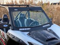 UTV Parts & Accessories - Extreme Metal Products, LLC - Teryx KRX 1000 Laminated Glass Windshield with vents (DOT Rated)