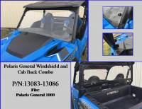Extreme Metal Products, LLC - Polaris General roof, windshield, cab back combo - Image 5