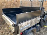 Extreme Metal Products, LLC - Kubota RTV Cargo Bed Side Extensions