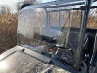 Extreme Metal Products, LLC - Kubota RTV Windshield with Vent (Hard Coated on Both Sides)