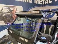 "Extreme Metal Products, LLC - Teryx KRX 1000 Light Bar Brackets for a 40"" Light Bar - Image 2"