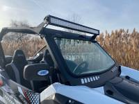"Extreme Metal Products, LLC - Teryx KRX 1000 Light Bar Brackets for a 40"" Light Bar - Image 4"