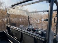 Extreme Metal Products, LLC - Kubota RTV Cab Back/Dust Stopper (Hard Coated on Both Sides) - Image 2