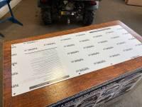 Extreme Metal Products, LLC - Kubota RTV Cab Back/Dust Stopper (Hard Coated on Both Sides) - Image 8