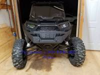 Extreme Metal Products, LLC - RZR NITRO Front  Bumper / Brush Guard with Winch Mount (XP1K, 2015-19 RZR 900 and 2016-18 RZR 1000-S) - Image 12