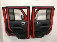 4WD Accessories/Rock Crawler - Extreme Metal Products, LLC - Jeep JL, JK and TJ Door Hangers