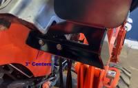 Extreme Metal Products, LLC - Kubota Tractor Auxilary Hyrdraulics Bracket - Image 4