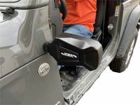 Extreme Metal Products, LLC - Jeep JL and Gladiator Off-Road Mirrors (Door Less Applications) - Image 1