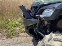 Extreme Metal Products, LLC - Honda Pioneer Front Brush Guard with Winch Mount - Image 7