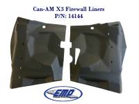 Extreme Metal Products, LLC - Can-Am Maverick X3 Firewall Liners - Image 2
