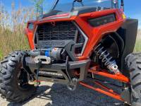 "Extreme Metal Products, LLC - Polaris RZR ""Stubby"" Front Winch Bumper"