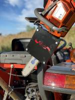 Extreme Metal Products, LLC - Tractor Chainsaw Rack for ROPS - Image 2