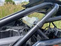 Extreme Metal Products, LLC - RZR PRO XP Cab Back/Dust Stopper (Hard Coated Polycarbonate) - Image 2
