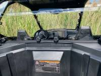 Extreme Metal Products, LLC - RZR PRO XP Cab Back/Dust Stopper (Hard Coated Polycarbonate) - Image 3