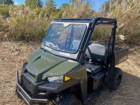 UTV Parts & Accessories - Polaris - Extreme Metal Products, LLC - 2015-21 Mid-Size/2-Seat Polaris Ranger Laminated Glass Windshield