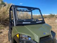 Extreme Metal Products, LLC - 2015-21 Mid-Size/2-Seat Polaris Ranger Laminated Glass Windshield - Image 9