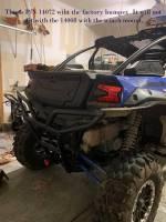 "Extreme Metal Products, LLC - Kawasaki KRX Rear 2"" Receiver/Tow Hook - Image 6"