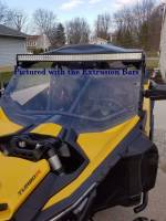 Extreme Metal Products, LLC - Can-Am Maverick X3 Hard Coated Windshield w/Fast Straps - Image 6