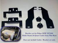 Extreme Metal Products, LLC - Polaris RZR XP1000 Cooler Mounting Bracket kit for Ozark 26 Cooler - Image 3