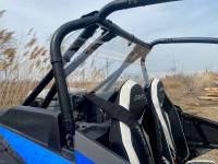 Extreme Metal Products, LLC - RZR Turbo S Hard Coated Cab Back/Rear Panel - Image 4