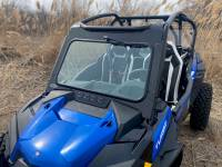 Extreme Metal Products, LLC - RZR Turbo S Hard Coated Cab Back/Rear Panel - Image 5