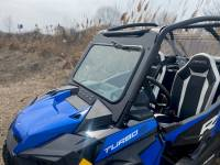 Extreme Metal Products, LLC - RZR Turbo S Laminated Glass Windshield with wiper - Image 2