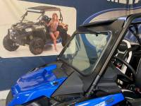 Extreme Metal Products, LLC - RZR Turbo S Laminated Glass Windshield with wiper - Image 7