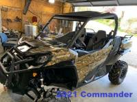 Extreme Metal Products, LLC - Maverick Trail, Maverick Sport, and 2021 Commander Hard Coated Polycarbonte Windshield - Image 9