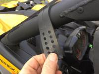 Extreme Metal Products, LLC - Can-Am Maverick X3 Hard Coated Windshield w/Fast Straps - Image 5