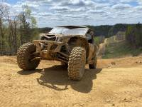"""Extreme Metal Products, LLC - Can-Am Maverick X3 """"BALLISTIC"""" Front Bumper with Winch Mount - Image 16"""
