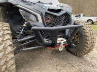 """Extreme Metal Products, LLC - Can-Am Maverick X3 """"BALLISTIC"""" Front Bumper with Winch Mount - Image 9"""