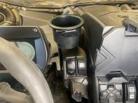 """Extreme Metal Products, LLC - Can-Am Maverick X3 """"Jumbo Cup"""" Holder - Image 3"""