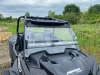 Extreme Metal Products, LLC - RZR Turbo and XP1000 Flip UP Windshield NOTE: If you have a Turbo S see P/N: 14352 - Image 2