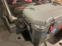 Extreme Metal Products, LLC - Polaris RZR XP1000 Cooler Mounting Bracket kit for Ozark 26 Cooler - Image 12