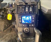 Extreme Metal Products, LLC - Can-Am X3 In-Dash Back Up Camera Monitor and Stereo Kit. - Image 8