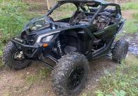 """Extreme Metal Products, LLC - Can-Am Maverick X3 """"BALLISTIC"""" Front Bumper with Winch Mount - Image 2"""