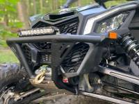 """Extreme Metal Products, LLC - Can-Am Maverick X3 """"BALLISTIC"""" Front Bumper with Winch Mount - Image 4"""