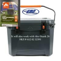 Extreme Metal Products, LLC - Polaris RZR XP1000 Cooler Mounting Bracket kit for Ozark 26 Cooler - Image 10