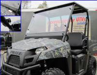 Polaris - RANGER®  - Mid Size - Extreme Metal Products, LLC - Mid-Size Ranger & EV Full Windshield