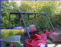 Polaris - RANGER®  - Full Size - Extreme Metal Products, LLC - Ranger Hard Top with LED Map Light