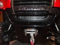 Honda - Big Red - Extreme Metal Products, LLC - Big Red Winch Mounting Plate