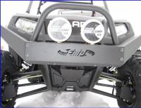 Extreme Metal Products, LLC - RZR Extreme Front Bumper / Brush Guard with Winch Mount - Image 3