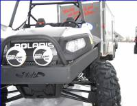 Extreme Metal Products, LLC - RZR Extreme Front Bumper / Brush Guard with Winch Mount - Image 4