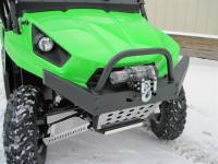 Extreme Metal Products, LLC - Teryx HD Front Bumper / Brush Guard with Winch Mount
