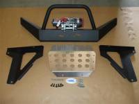 Teryx HD Front Bumper / Brush Guard with Winch Mount