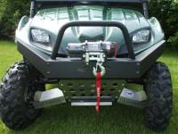 Extreme Metal Products, LLC - Teryx HD Front Bumper / Brush Guard with Winch Mount - Image 2