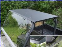 Extreme Metal Products, LLC - Mule 3000 / 3010 and 4000 / 4010 Hard Top with LED Dome Light