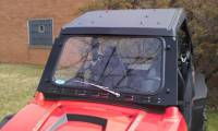 RZR Laminated Safety Glass Windshield with Wiper