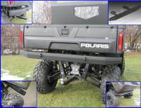 Polaris - RANGER®  - Full Size - Extreme Metal Products, LLC - Ranger Extreme Rear Bumper