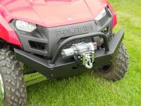 Extreme Metal Products, LLC - Mid-Size Ranger Extreme Front Bumper / Brush Guard with Winch Mount - Image 5